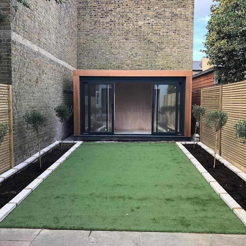 Landscaping project in Wimbledon, London